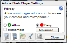 flash settings